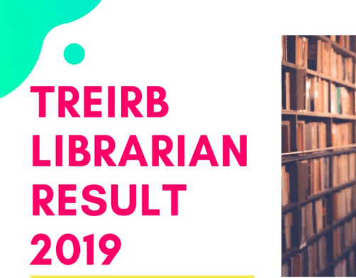 TREIRB Librarian Result 2019: Telangana TREIRB Librarian Cut Off, Merit List