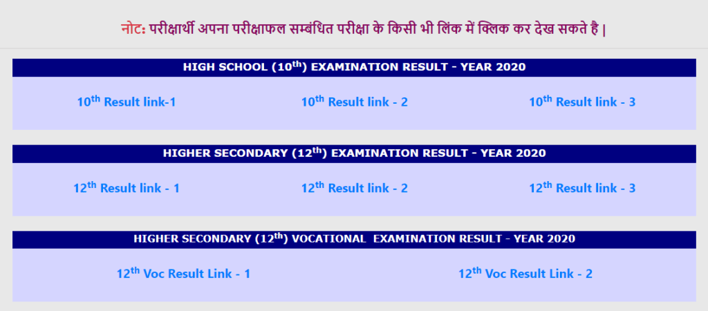 www.cgbse.nic.in 10th result 2020